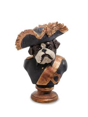 Статуэтка Собака Адмирал Art East. Цвет: черный, бронзовый