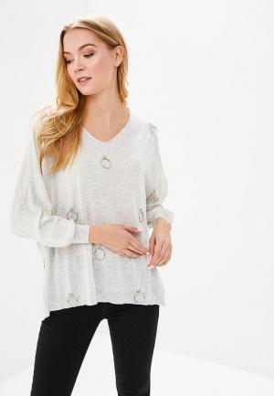 Пуловер Sweewe. Цвет: серый