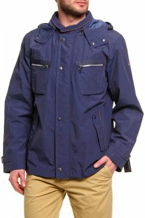 Куртка Jupiter. Цвет: синий