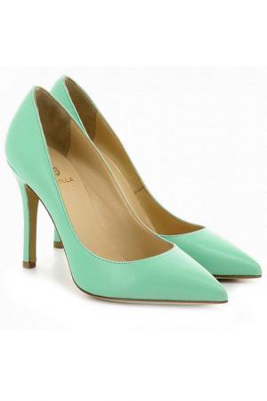 Туфли Semilla. Цвет: зеленый