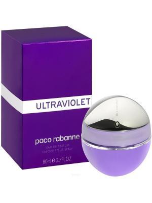 Парфюмерная вода Ultraviolet, 80 мл PACO RABANNE. Цвет: сливовый
