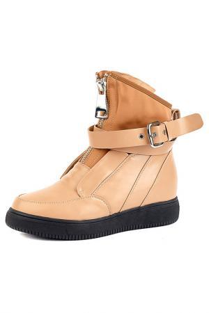 Ботинки Vita Ricca. Цвет: бежевый