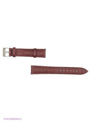 Ремень для часов, им. аллигатора (двухсторонняя) J.A. Willson. Цвет: коричневый