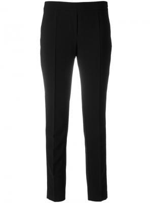 Узкие брюки D.Exterior. Цвет: чёрный