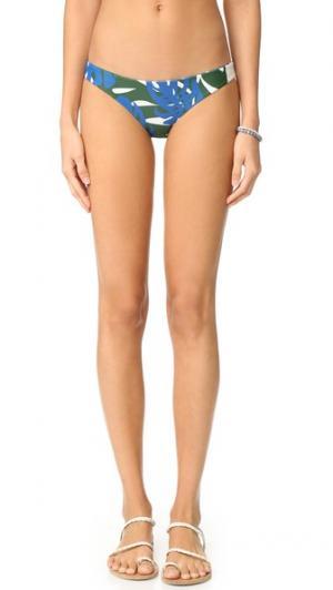Плавки бикини Zuma Full MIKOH. Цвет: винтажный таити лес