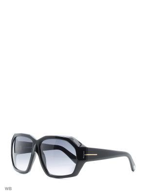 Солнцезащитные очки FT 0266 01B Tom Ford. Цвет: черный