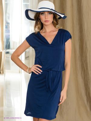 Платье Fairly. Цвет: темно-синий
