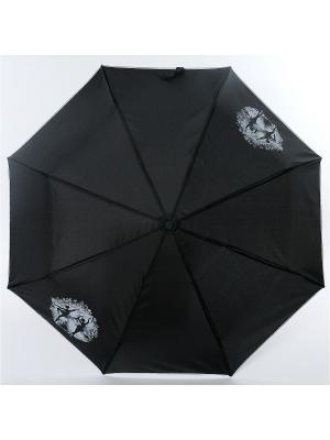 Зонт ArtRain. Цвет: черный, белый