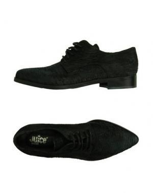 Обувь на шнурках JUICE. Цвет: черный