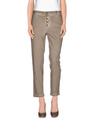 Повседневные брюки MET & FRIENDS. Цвет: светло-коричневый