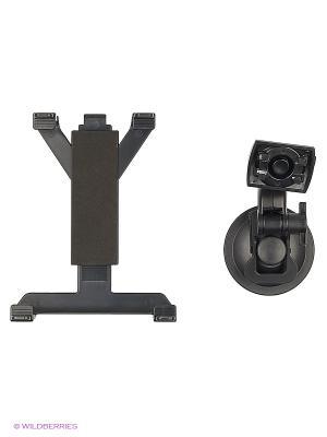 Держатель для планшета/iPad на стекло и решетку вентиляции KDS-2TV WIIIX. Цвет: черный