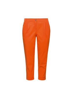Капри PELICAN. Цвет: оранжевый