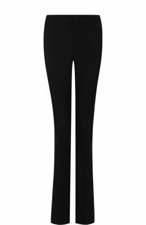 Шерстяные расклешенные брюки со стрелками Gucci. Цвет: черный