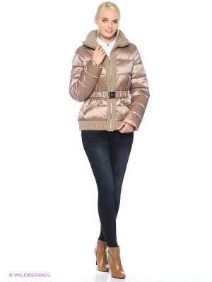 Куртка Gaudi. Цвет: бежевый