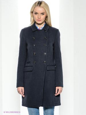 Пальто Bogner Jeans. Цвет: серо-голубой