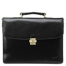 Портфель  7730 черный GERARD HENON