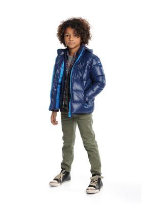 Куртка Appaman. Цвет: синий