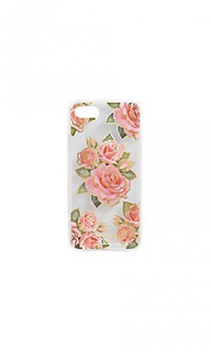 Чехол для iphone 6/7 amore ZERO GRAVITY. Цвет: розовый