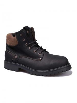 Ботинки Wrangler. Цвет: темно-коричневый