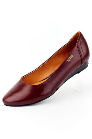 Туфли Badura. Цвет: красный