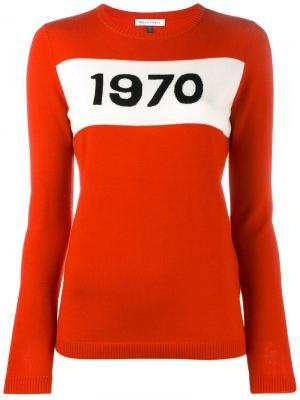 Свитер 1970 Bella Freud. Цвет: красный