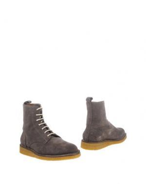 Полусапоги и высокие ботинки PANTOFOLA D'ORO. Цвет: хаки