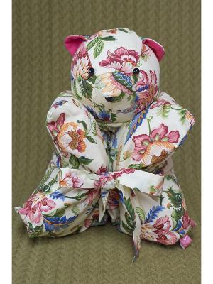 Декоративная подушка Mammi. Цвет: светло-желтый, розовый, зеленый