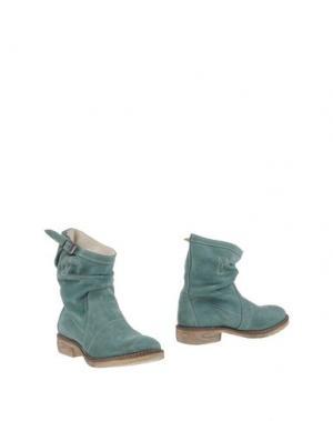 Полусапоги и высокие ботинки PENELOPE. Цвет: светло-зеленый