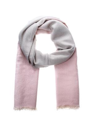 Палантин Migura. Цвет: розовый, серый, бежевый
