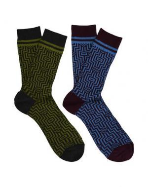 Короткие носки BURLINGTON. Цвет: баклажанный