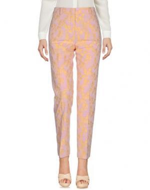 Повседневные брюки MANTÙ. Цвет: светло-розовый
