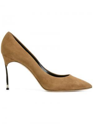 Туфли Cam Casadei. Цвет: коричневый