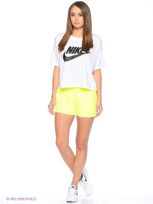 Шорты BASELINE SHORT Nike. Цвет: розовый, желтый
