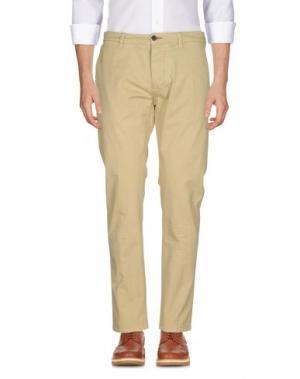 Повседневные брюки RANSOM. Цвет: песочный