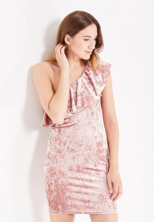 Платье Jennyfer. Цвет: розовый
