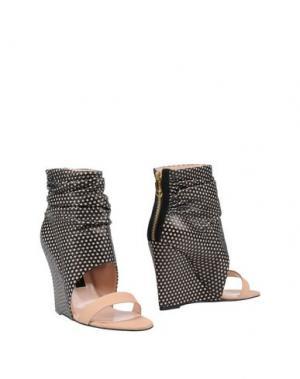 Полусапоги и высокие ботинки JÉRÔME DREYFUSS. Цвет: черный
