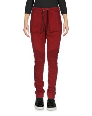 Повседневные брюки HYDROGEN. Цвет: кирпично-красный