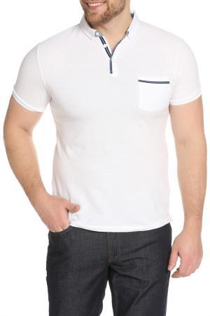 Рубашка-поло LE SHARK. Цвет: белый