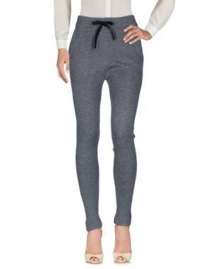 Повседневные брюки BRAND UNIQUE. Цвет: серый