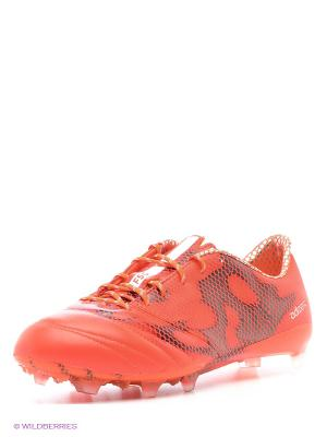 Бутсы F50 Adizero Fg (Lea Adidas. Цвет: оранжевый