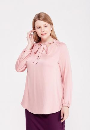 Блуза Lina. Цвет: розовый