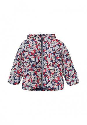 Куртка утепленная Tom Tailor. Цвет: разноцветный