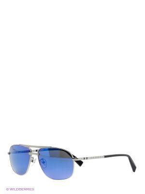 Солнцезащитные очки BLD 1527 103 Baldinini. Цвет: серебристый