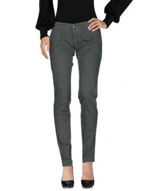 Повседневные брюки 2W2M. Цвет: темно-зеленый