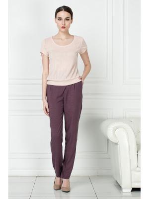 Блузка KEY FASHION. Цвет: персиковый