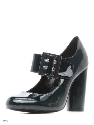 Туфли LINO MORANO. Цвет: темно-зеленый