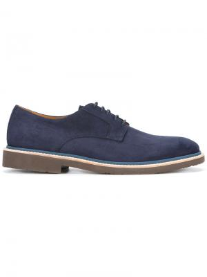 Casual derby shoes Corneliani. Цвет: синий