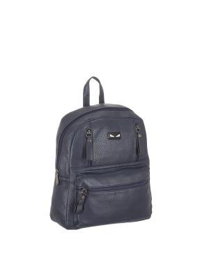 Рюкзак 5655 искусственная кожа Sofiya. Цвет: синий