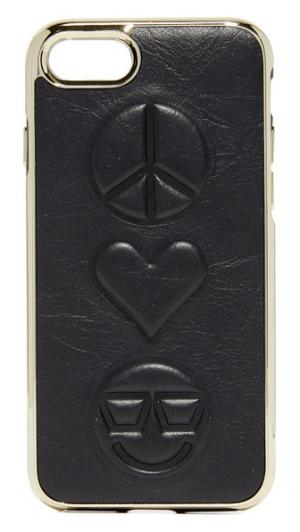 Чехол Peace Love Happiness для iPhone 7 Rebecca Minkoff