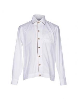 Pубашка UMIT BENAN. Цвет: белый